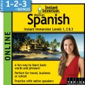 Levels 1-2-3 Latin America Spanish - Online Version