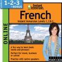 Levels 1-2-3 French - Online Version