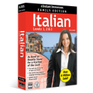 Instant Immersion Levels 1-2-3 Italian - Family Edition