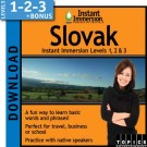 Learn Slovak with Levels 1-2-3