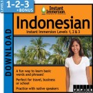 Learn Indonesian with Levels 1-2-3