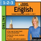 American English - Levels 1-2-3  Online Class