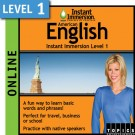 Speak intermediate American English with this subscription product