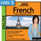 Speak intermediate French with this subscription product
