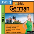 Speak intermediate German with this subscription product
