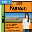 Learn to speak Korean with this online class.