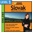 Learn to speak Slovak with this Online Version.