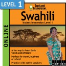 Learn to speak Swahili with this Online Version.
