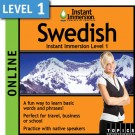 Learn to speak Swedish with this Online Version.