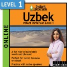 Learn to speak Uzbek with this Online Version.