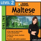 Speak intermediate Maltese with this subscription product