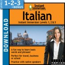 Learn Italian with Levels 1-2-3