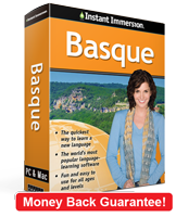 Instant Immersion's Basque course is the best way to learn Basque