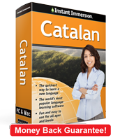 Instant Immersion's Catalan course is the best way to learn Catalan