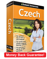 Instant Immersion's Czech course is the best way to learn Czech