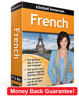 Instant Immersion's French course is the best way to learn French