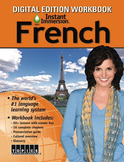Add a French Language Workbook to any course