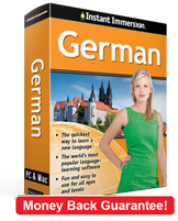 Instant Immersion's German course is the best way to learn German