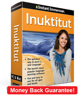 Instant Immersion's Greenlandic course is the best way to learn Greenlandic