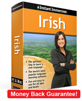 Instant Immersion's Irish course is the best way to learn Irish