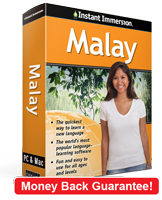 Instant Immersion's Malay course is the best way to learn Malay