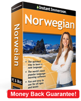 Instant immersion norwegian level 1 2 3 2 year subscription
