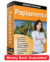 Instant Immersion's Papiamento course is the best way to learn Papiamento
