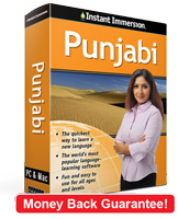 Instant Immersion's Punjabi course is the best way to learn Punjabi