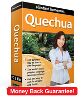 Instant Immersion's Quechua course is the best way to learn Quechua