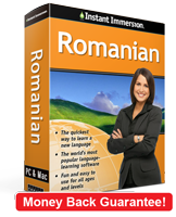 Instant Immersion's Romanian course is the best way to learn Romanian