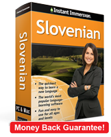 Instant Immersion's Slovenian course is the best way to learn Slovenian