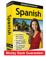 Instant Immersion's Spanish course is the best way to learn Spanish