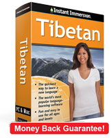 Instant Immersion's Tibetan course is the best way to learn Tibetan
