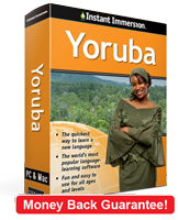 Instant Immersion's Yoruba course is the best way to learn Yoruba