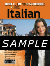 Instant Immersion Italian Workbook