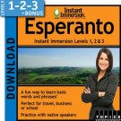 Learn Esperanto with Levels 1-2-3