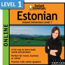 Learn to speak Estonian with this Online Version.