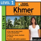 Learn to speak Khmer with this Online Version.