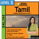 Learn to speak Tamil with this Online Version.