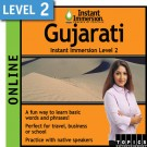 Speak intermediate Gujarati with this subscription product