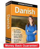 Instant Immersion's Danish course is the best way to learn Danish