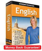 Instant Immersion's English course is the best way to learn English