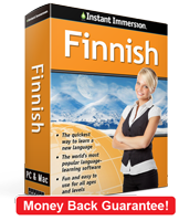 Instant Immersion's Finnish course is the best way to learn Finnish
