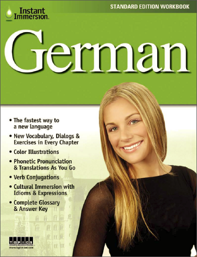 Add a German Language Workbook to any course