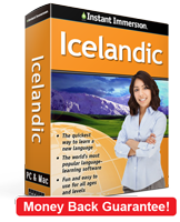Instant Immersion's Icelandic course is the best way to learn Icelandic