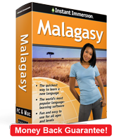 Instant Immersion's Malagasy course is the best way to learn Malagasy