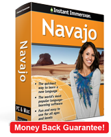 Instant Immersion's Navajo course is the best way to learn Navajo