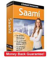 Instant Immersion's Saami course is the best way to learn Saami