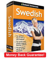 Instant Immersion's Swedish course is the best way to learn Swedish