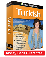 Instant Immersion's Turkish course is the best way to learn Turkish